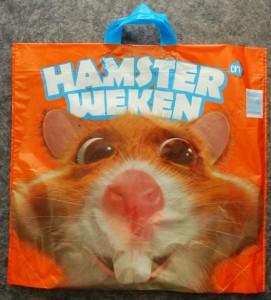Hamster weeks plastic bag from Albert Heijn