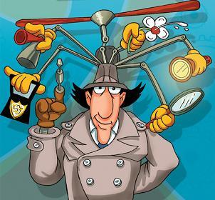 Multitasking as it should be - Inspector Gadget